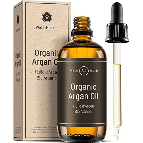 Bio Arganöl kaltgepresst für Haut, Haare &...
