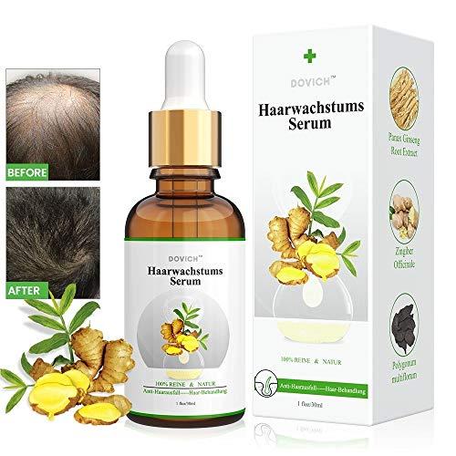 Haarwachstum Serum, Anti-Haarausfall, Haarserum...