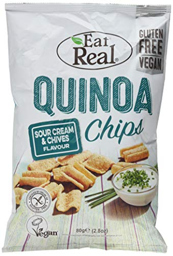 Cofresh Sour Cream & Chive Flavour Quinoa Chips...