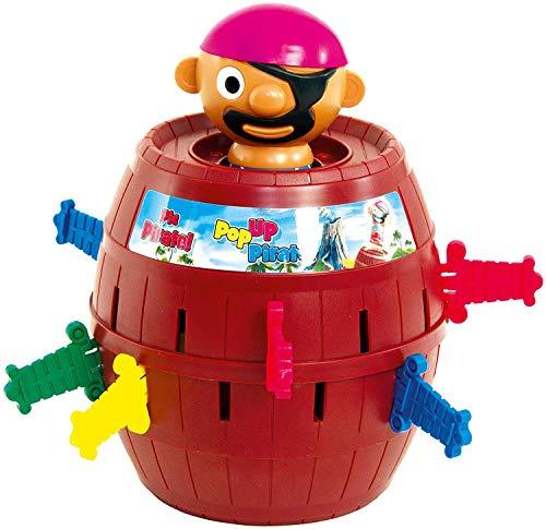 TOMY Kinderspiel 'Pop Up Pirate', Hochwertiges...