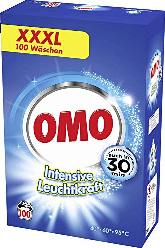 Omo Vollwaschmittel für strahlende Sauberkeit...