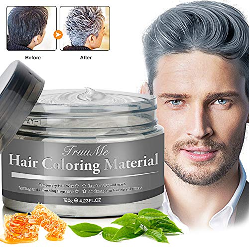Haarfarbe Grau, Hair Wax, Graue Haarfarbe,...
