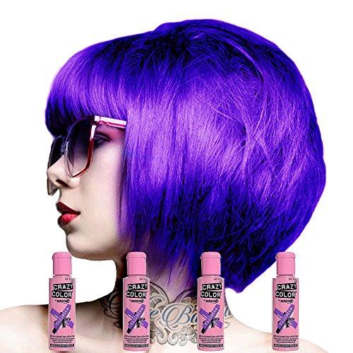Crazy Colour Semi Permanent Haarfärbemittel...
