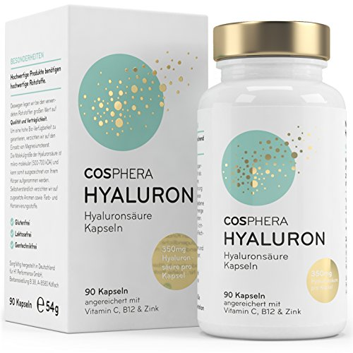 Hyaluronsäure Kapseln - Hochdosiert mit 395 mg...
