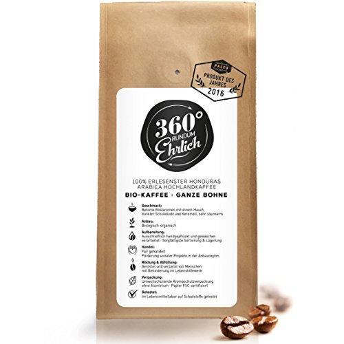 Premium Bio Kaffeebohnen preisgekrönt |...