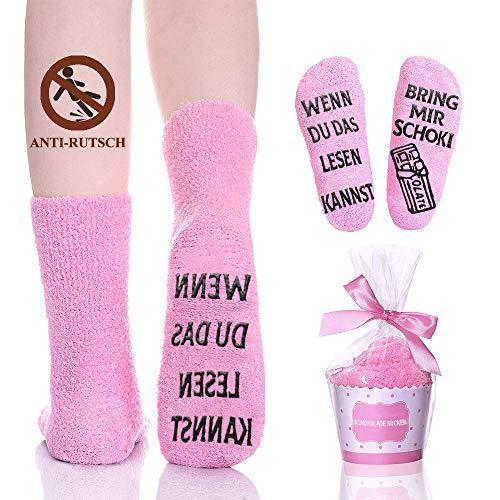 Lustige Socken Geschenke für Frauen, Damen Anti...