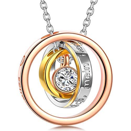 Kami Idea Muttertagsgeschenk Halsketten für...