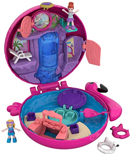 Polly Pocket FRY38 - World Flamingo Schwimmring...