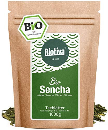 Sencha Grüntee Bio 1000g - Top Sencha -...