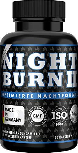 NIGHT BURN 2 Kapseln für die Nacht, die...