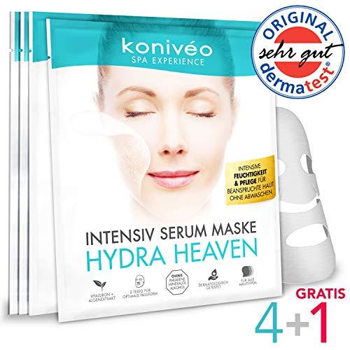 Hyaluron Tuchmaske – Hochdosierte Gesichtsmaske...