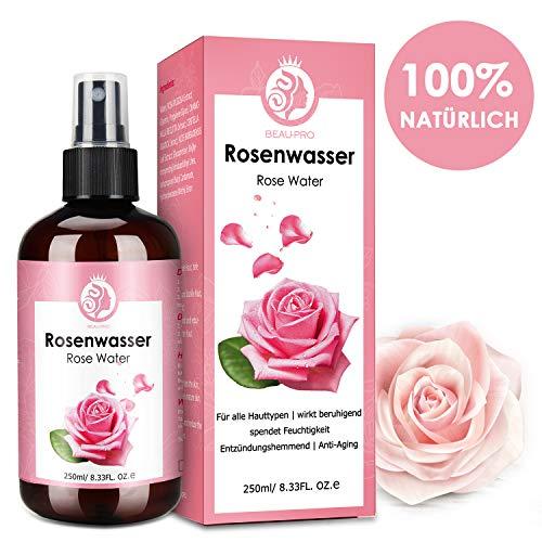 Rosenwasser,Rose Water,100% Reines rosenwasser...