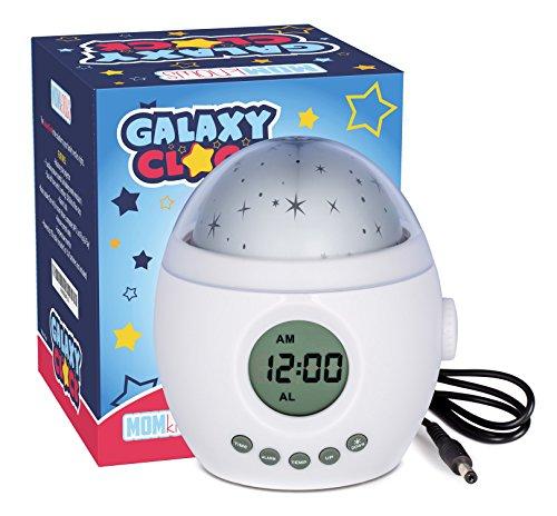 Galaxy Uhr von MomKnows. Soothing Star Projektor...