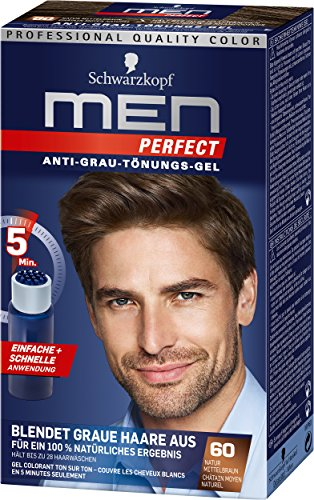 Schwarzkopf Men Perfect Anti-Grau-Tönungs-Gel, 60...