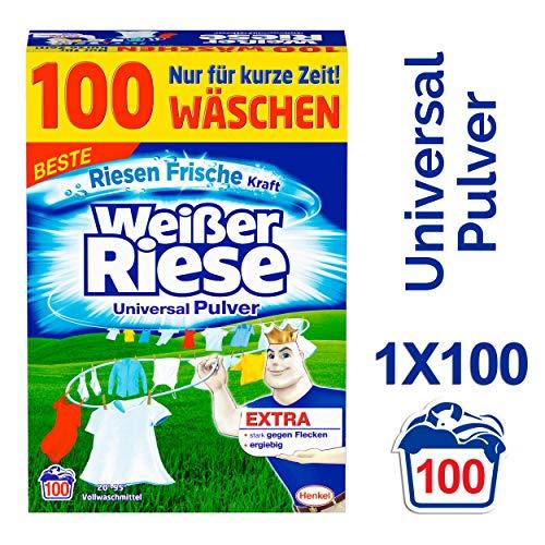 Weißer Riese Universal Pulver, Vollwaschmittel,...