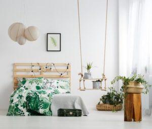 Ein Schlafzimmer Skandinavisch Einzurichten Sieht Am Besten Mit Hellen  Farben Aus.