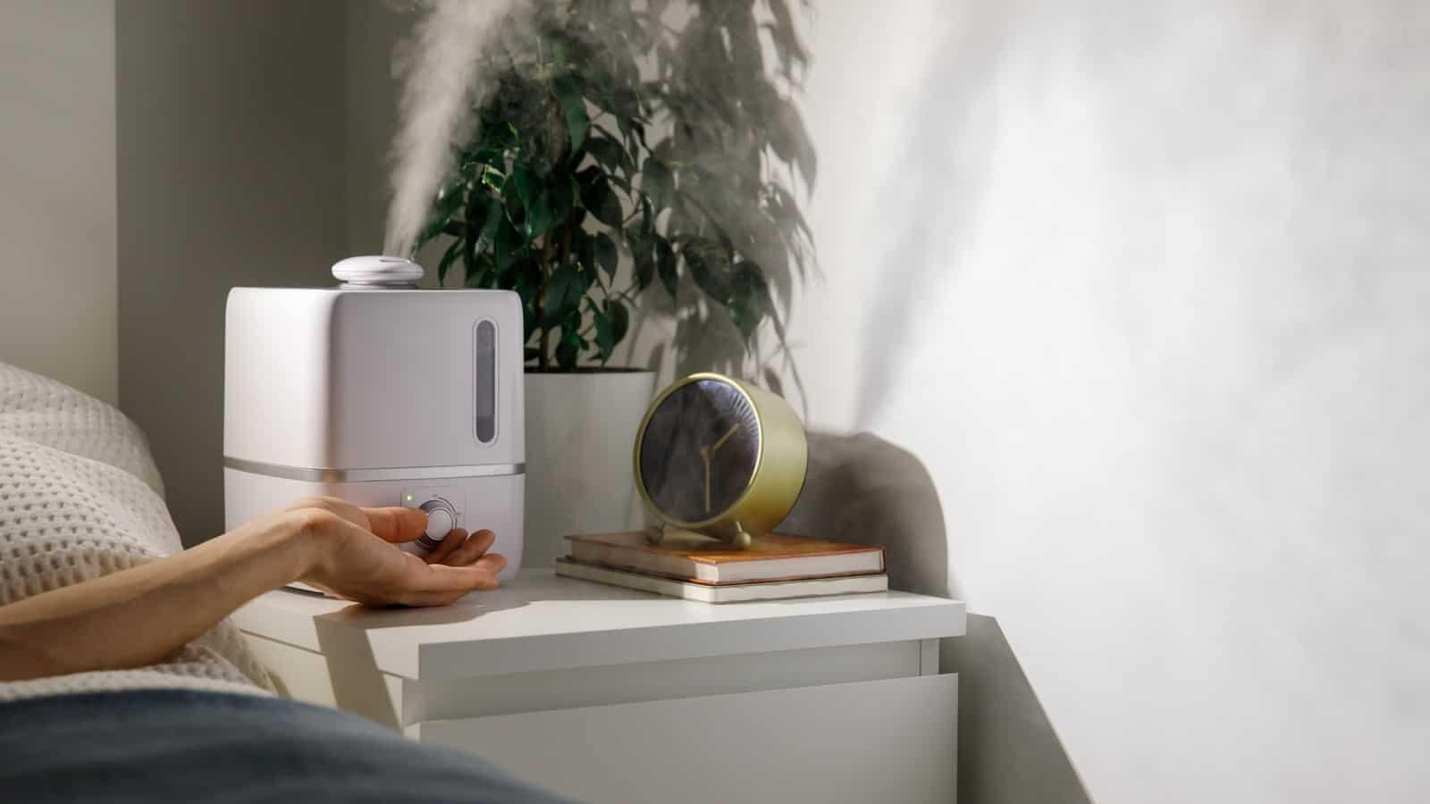 Luftfeuchtigkeit im Schlafzimmer: So leicht optimale Luftfeuchte