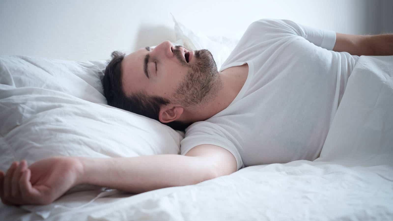 Schlafapnoe- Symptome, Ursachen & Behandlungen