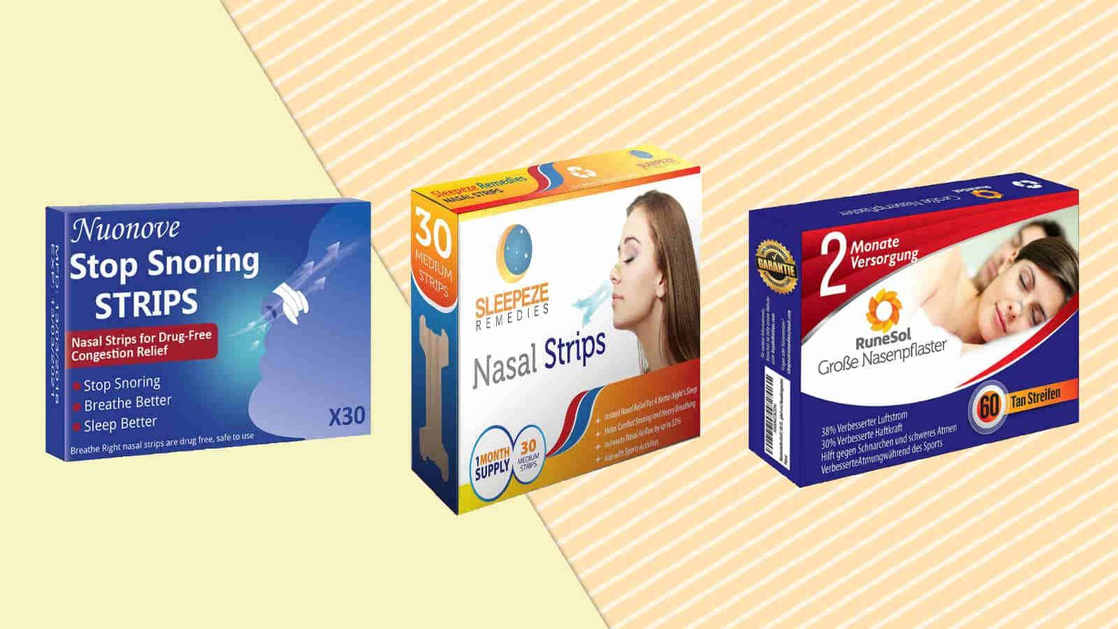 Nasenpflaster gegen Schnarchen und Schlafapnoe- Leitfaden und Bewertungen - 1