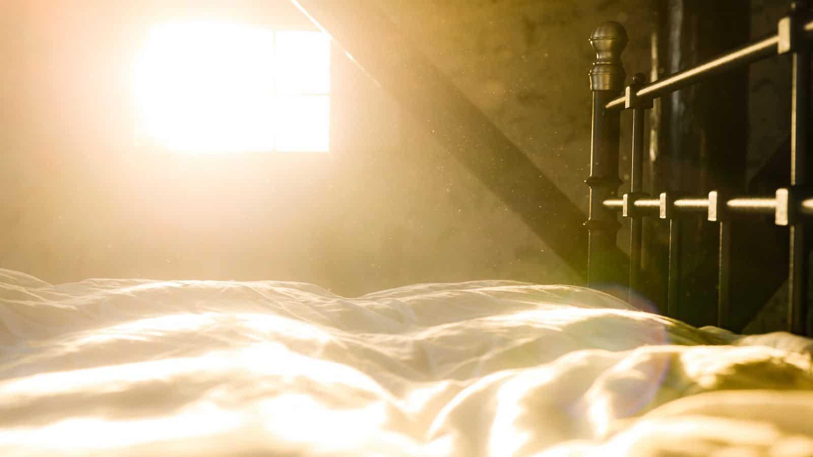 Staub im Schlafzimmer - So wirst du Dreck und Staub los!