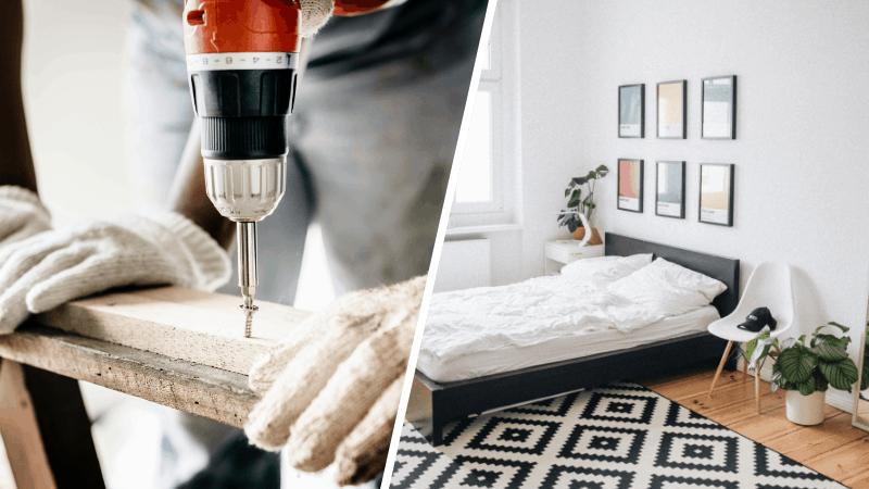 Bett selber bauen: Ultimative Anleitung für dein DIY-Bett ...
