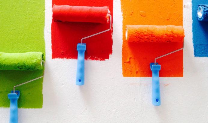 Wandfarben für\'s Schlafzimmer: Wirkung von Farben