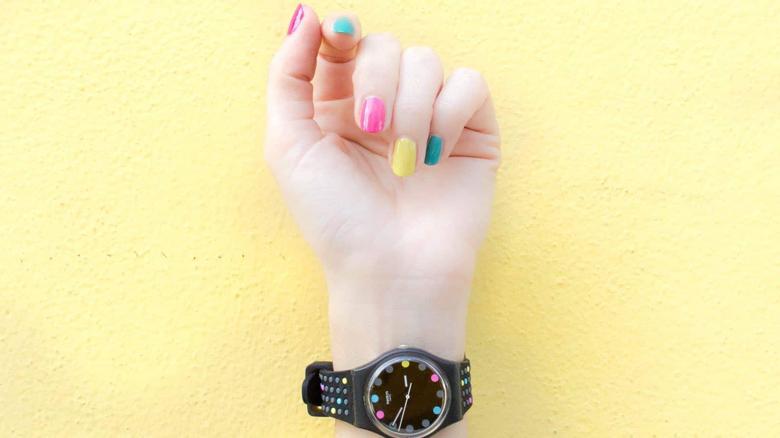 Gelbe Fingernägel- So wirst du sie endlich los!