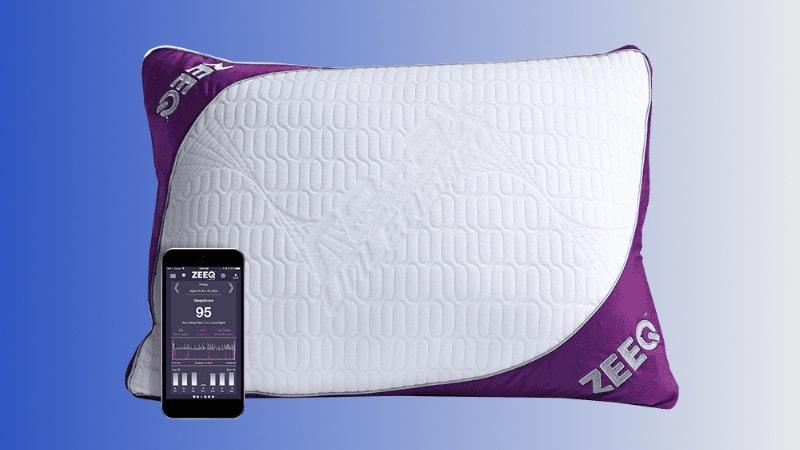 ZEEQ Smart Pillow- Sleep-Track-Kissen mit Schnarchstop-Funktion