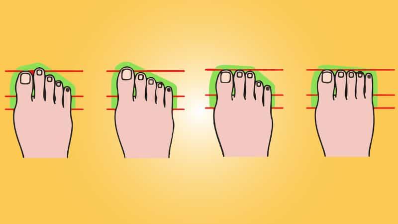 Fußformen- Was deine Fußform über dich aussagt - Welche hast du?