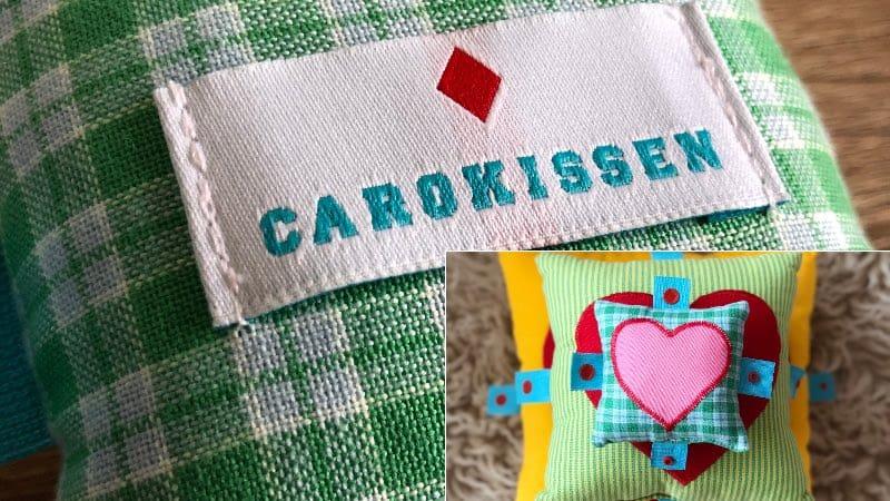 Carokissen: Süße Kissen mit absoluten Mehrwert
