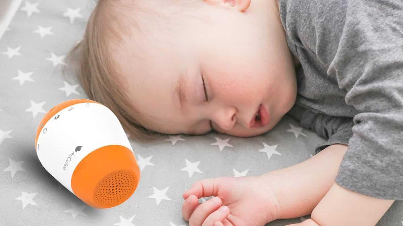 Die K1 Baby Soothing Sounds Maschine erhöht die Schlafdauer und Schlafqualität signifikant