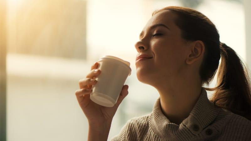 Pickel durch Kaffee- Kann das trinken von Koffein Pickel verursachen-1