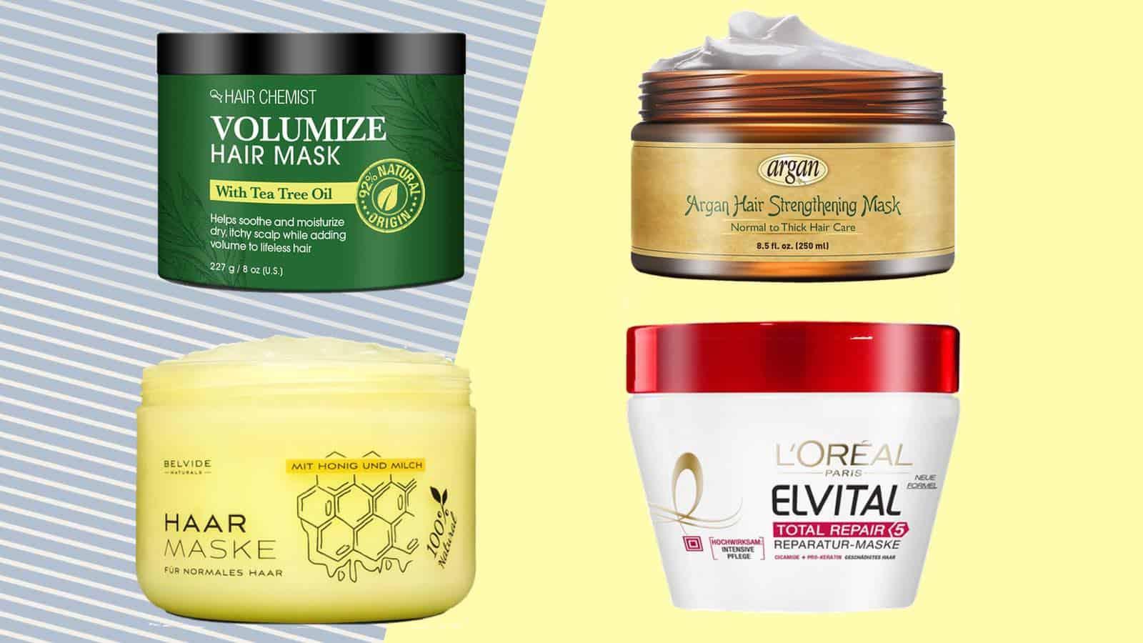 Die 10 besten Haarmasken für trockene und krause Haare