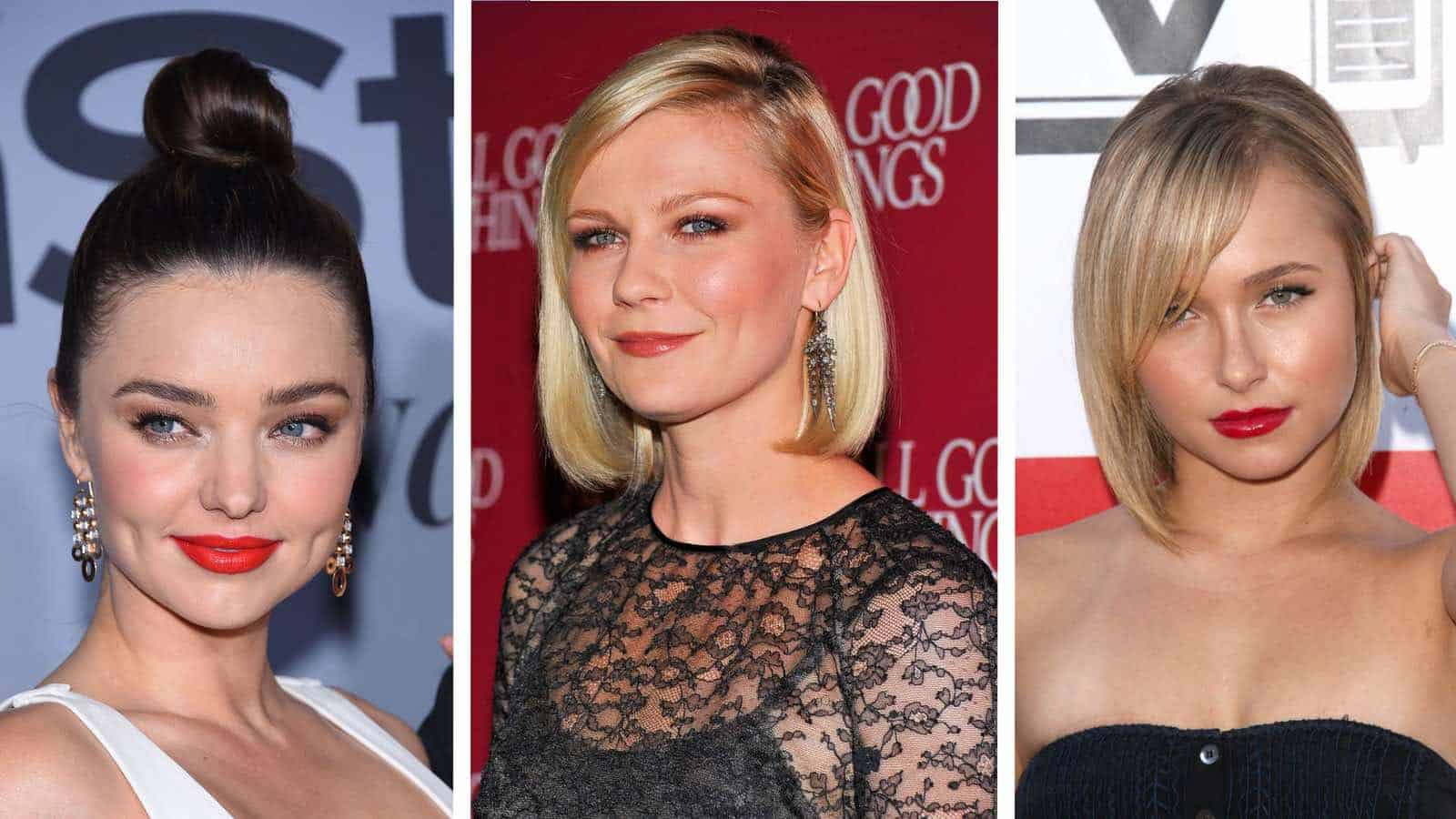 30 beste Frisuren für ein rundes Gesicht in 2019