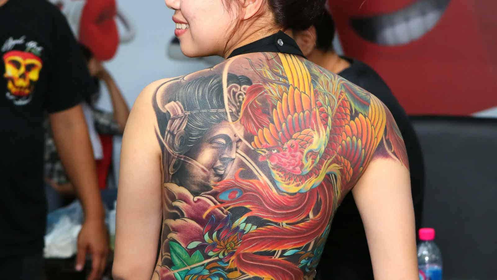 Phönix-Tattoo- Die Bedeutung dahinter & tolle Tattoo-Motive