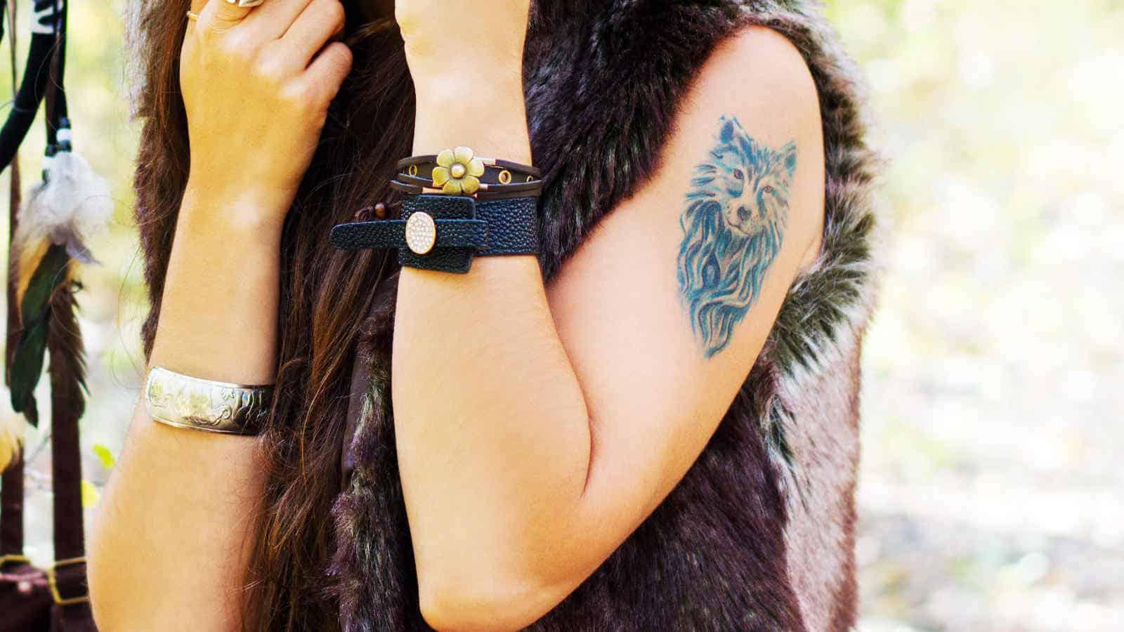 Wolf-Tattoo- Designs, Ideen und Bedeutungen