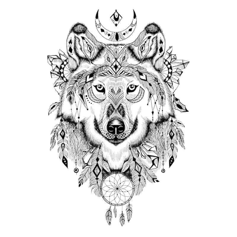 Wolf Tattoo Designs Ideen Und Bedeutungen Schlafzimmer De