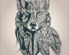 Wolf-Tattoo-Vorlage-2