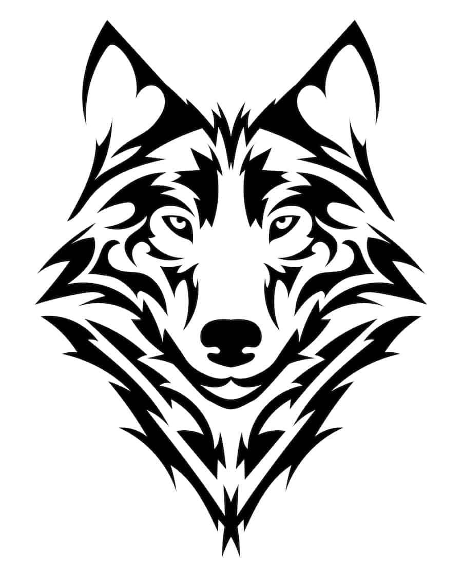 Wolf Tattoo Designs Ideen Und Bedeutungen Schlafzimmerde