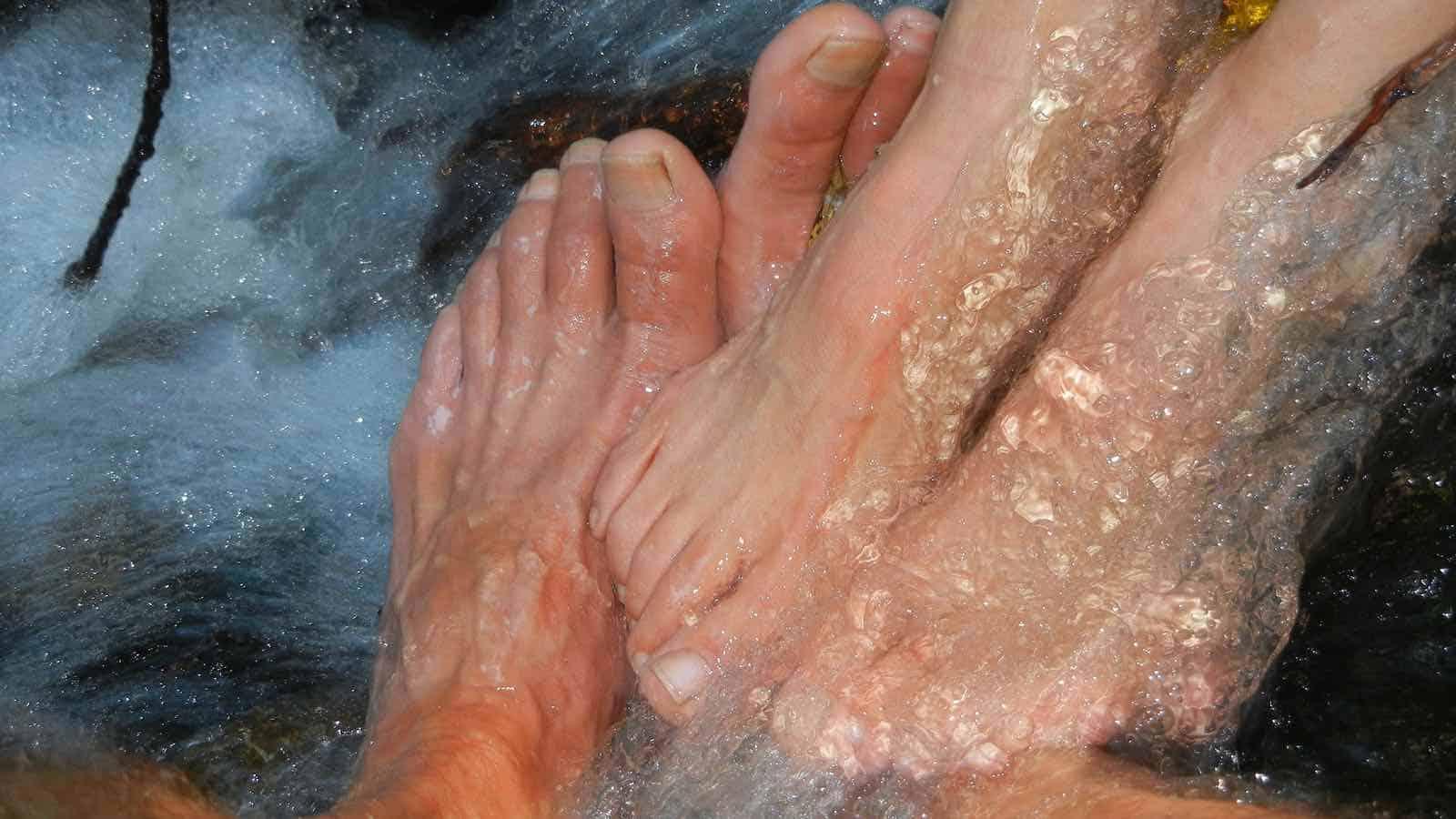 Fußnagel löst sich
