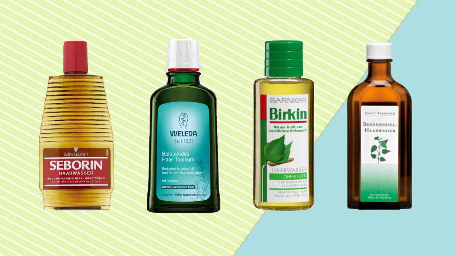 Haarwasser- Was ist das und wie benutzt man es? + Vergleich