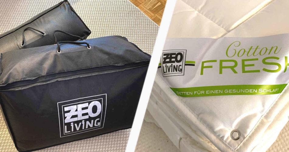 ZEO Living Bettdecke und Kopfkissen im Test 2020- Kuschelig schlafen