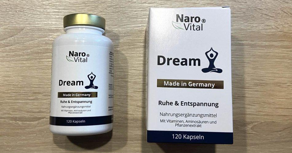 NaroVital® Dream Nahrungsergänzungsmittel Test 2021