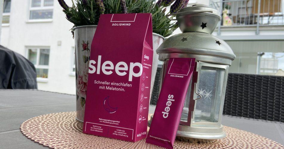 Schneller einschlafen mit Melatonin: Solidmind Sleep im Test 2021